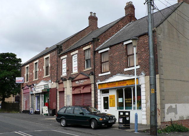 Church Road shops