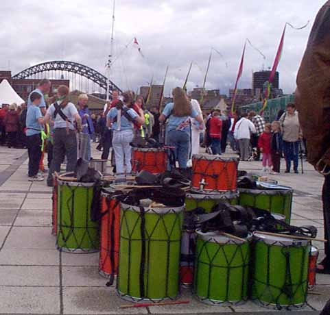 Drums in Baltic Square