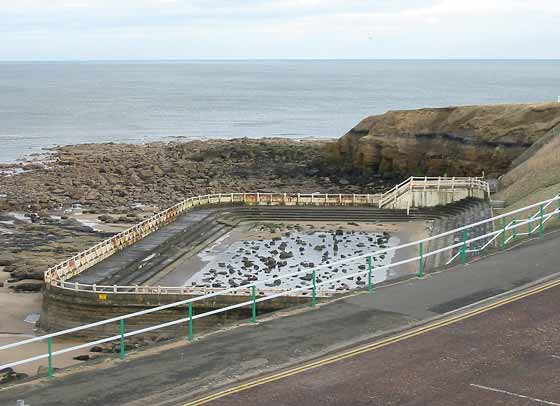 Tynemouth open air pool