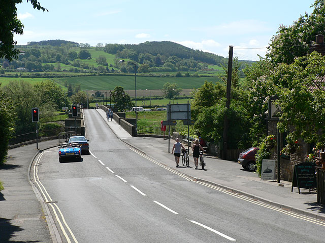 Looking south towards the bridge