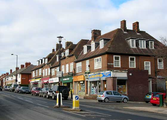 Shops on Fenham Hall Drive