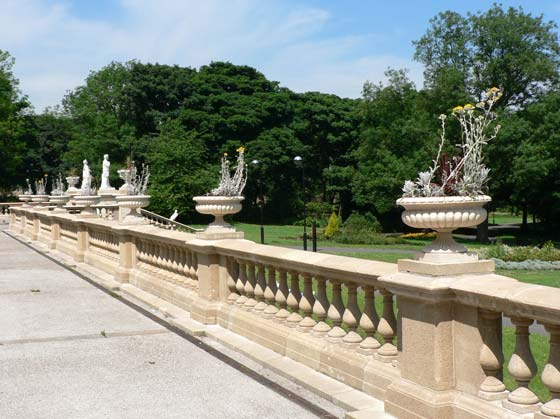 The balustrade