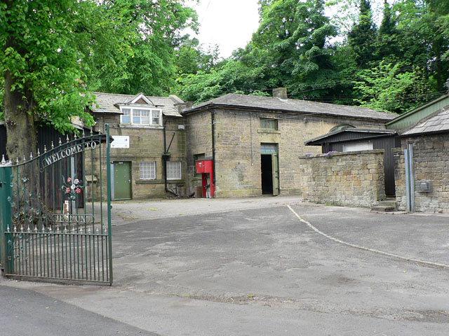 Jesmond Dene House lodge and stables