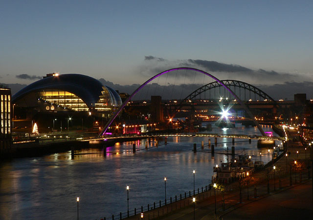 Newcastle and Gateshead Quaysides