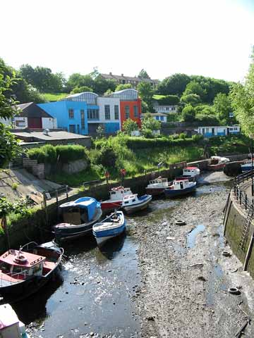 Low tide on the Ouseburn