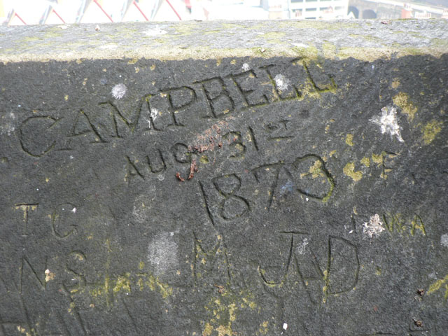19th century graffiti