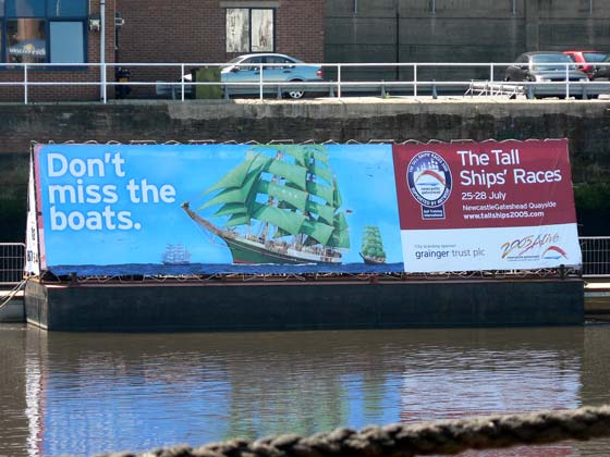 Tall Ships Races advertisement